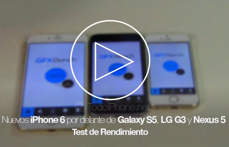Новый iPhone 6 впереди Galaxy S5, LG G3 и Nexus 5 в тесте производительности