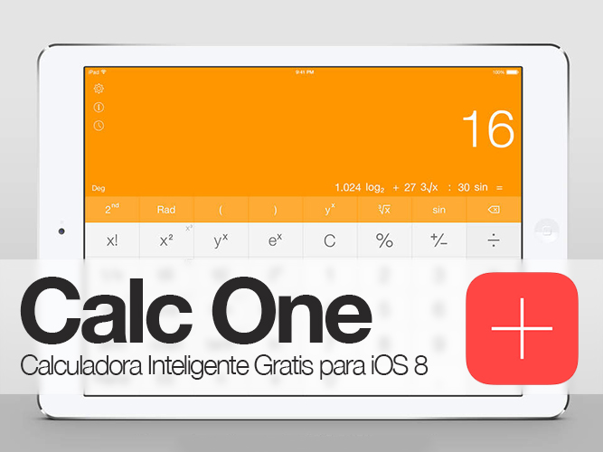 Calc-One-Calculadora-iPad-Gratis