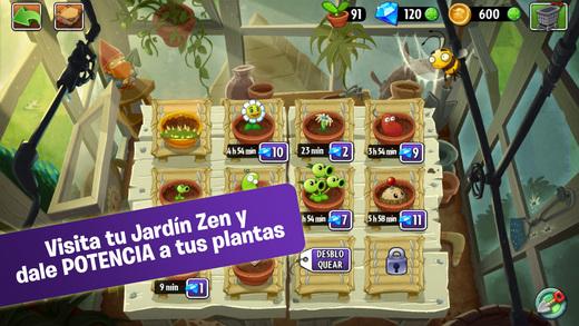 Plants vs zombies 2 llegan m s novedades para iphone for Jardin zen plantas vs zombies