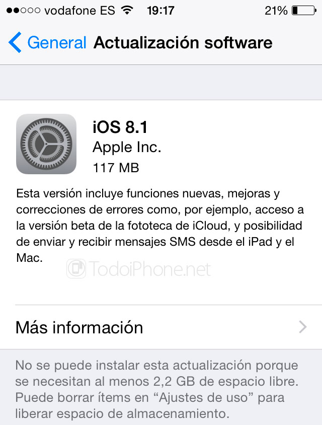 iOS-8-1-Actualizar-OTA-iPhone-iPad