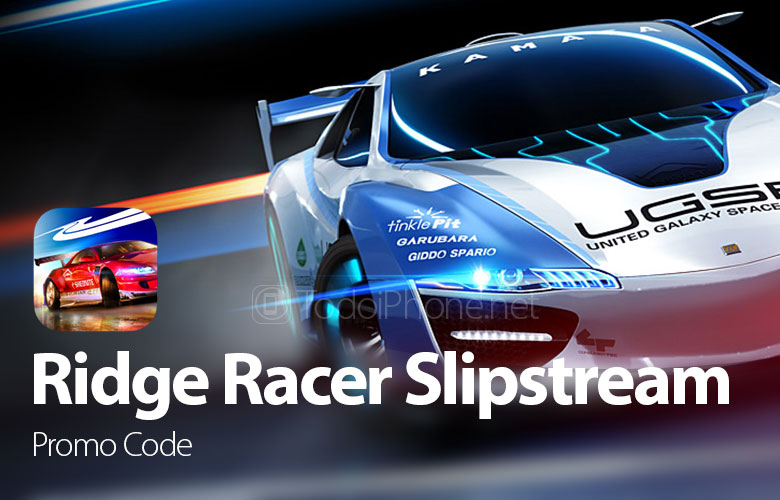 🥇 ▷ Get your FREE Promo Code of the Ridge Racer Slipstream