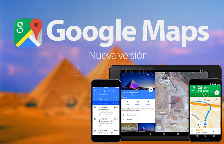 Auto route recalculation arrives at Google Maps 1