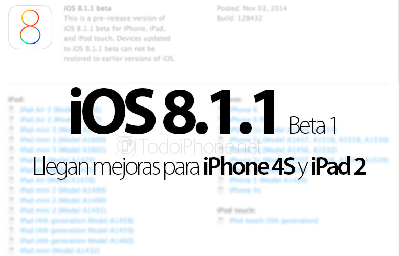 iOS-8-1-1-Beta-1-Mejora-iPhone-4S-iPad-2