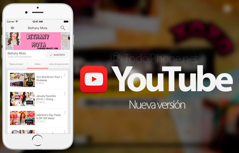 youtube-nueva-version-iphone-musica