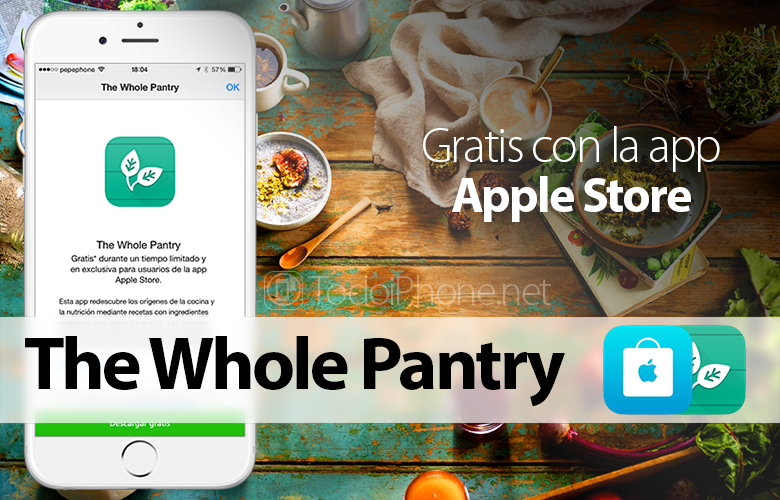 The Whole Pantry, FREE for iPhone with the app Apple Store 1