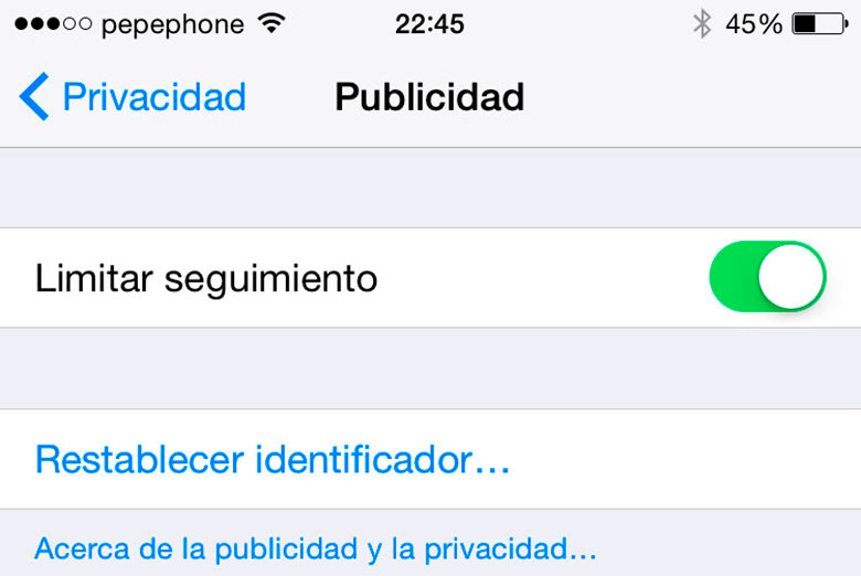 iPhone-6-Ajustes-Esenciales-Configuracion-Limitar-Seguimiento-Publicidad
