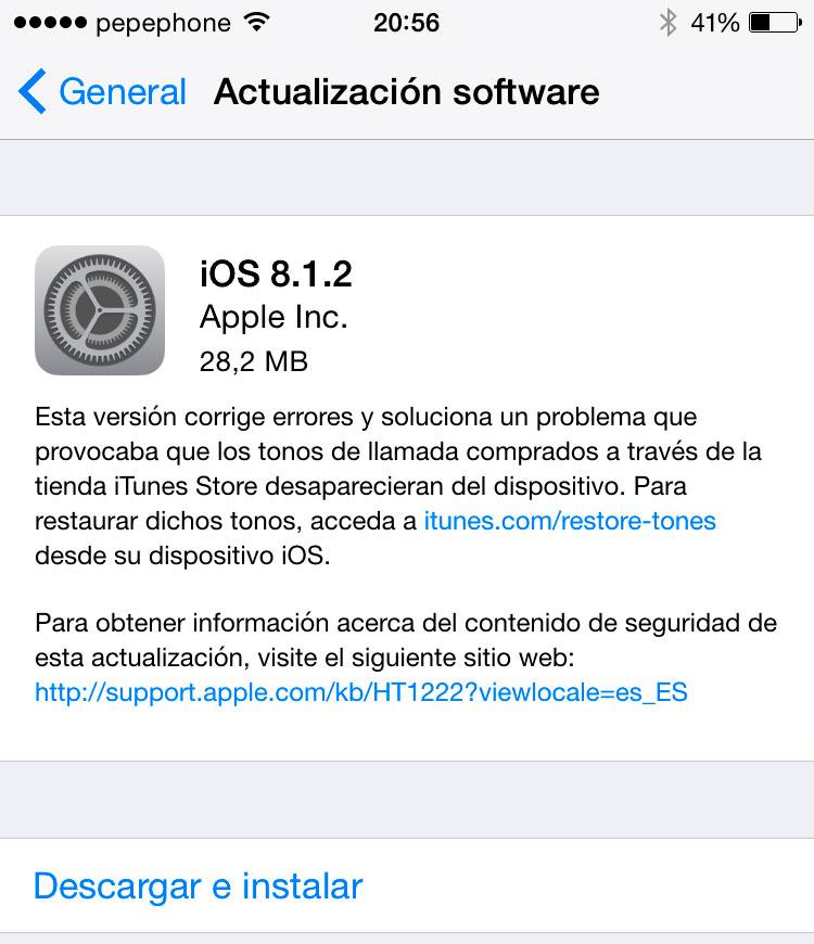 ios-8-1-2-disponible-iphone-ipad