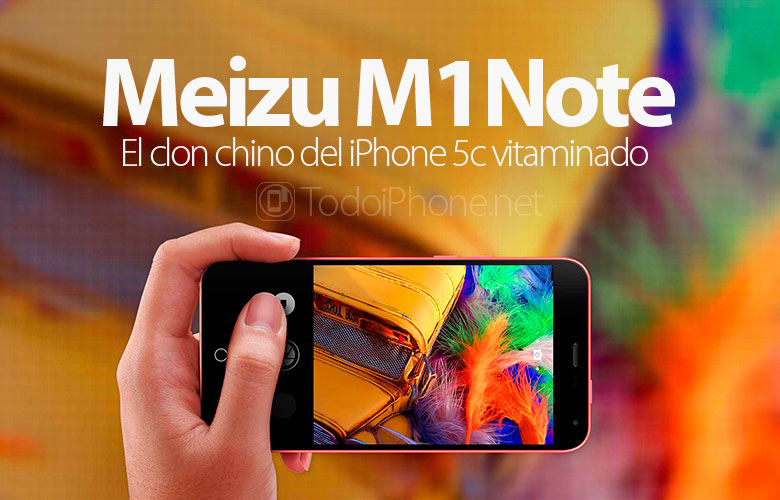 meizu-m1note-iphone-5c-clon-chino