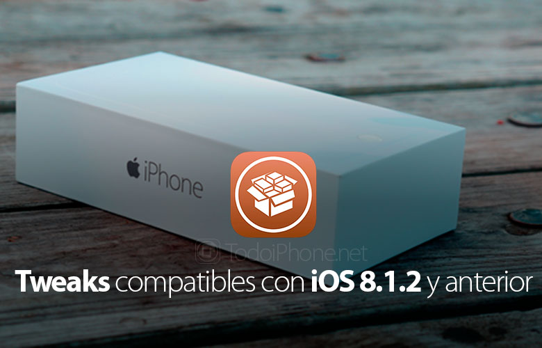 🥇 ▷ List of Tweaks compatible with iPhone with iOS 8 1 2