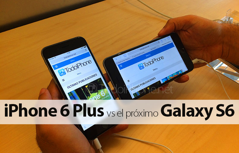 iphone-6-plus-frente-proximo-samsung-galaxy-s6