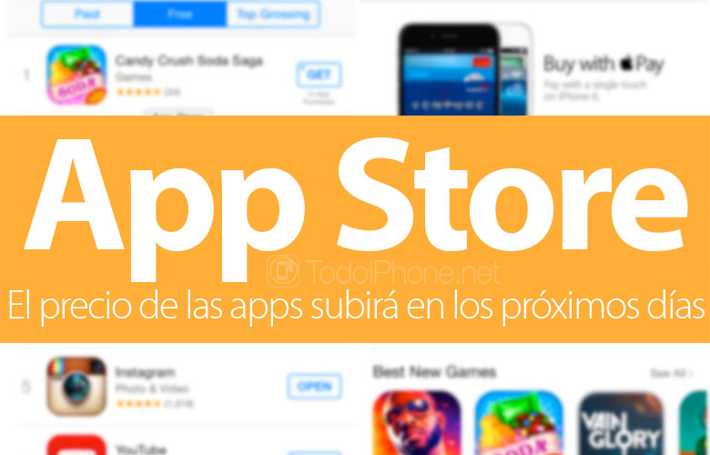 The price of apps in the App Store will rise in the next few days 1