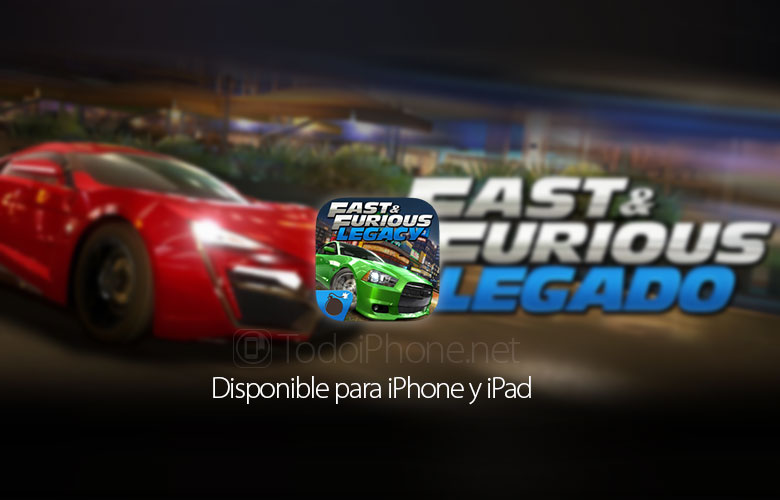 Fast & Furious: Legacy, the official movie game 1