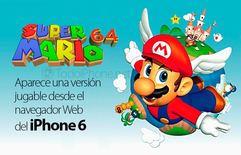 jugar-super-mario-64-hd-navegador-iphone-6-mobot