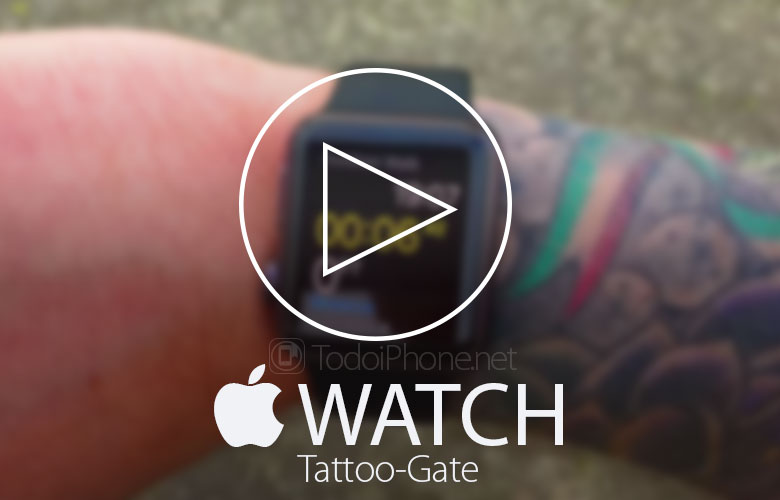 The Apple Watch Doesn't work with wrist tattoos? 1