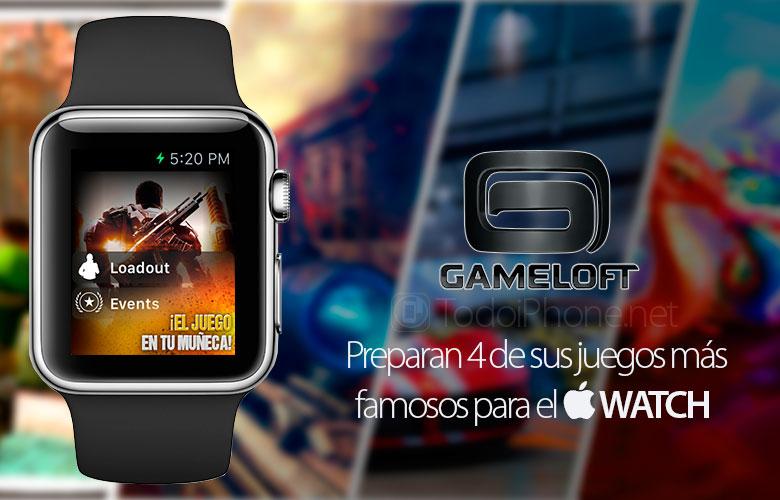 juegos-gameloft-apple-watch