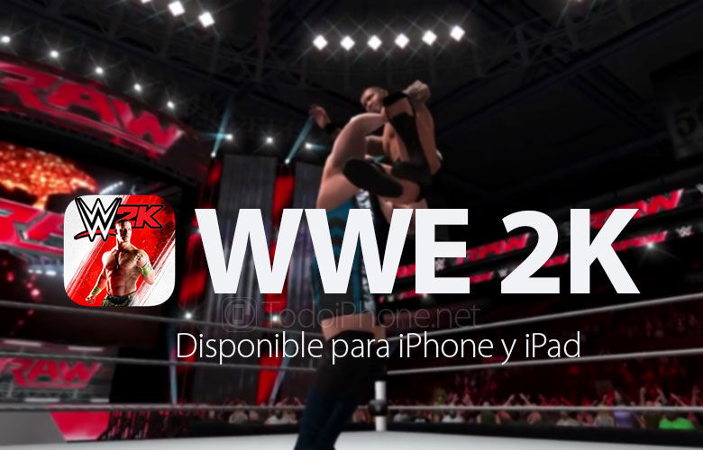 WWE 2K è finalmente disponibile su App Store per iPhone e iPad