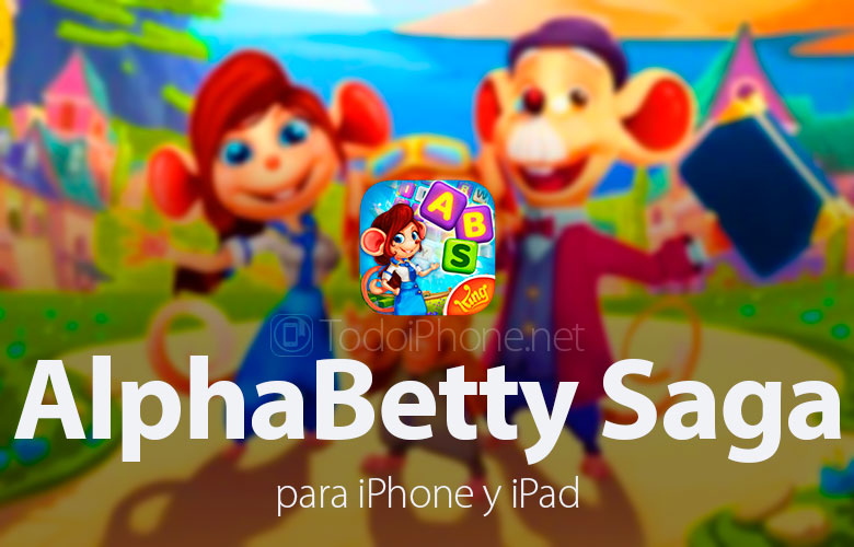 AlphaBetty Saga, the social word game for iPhone and iPad 1