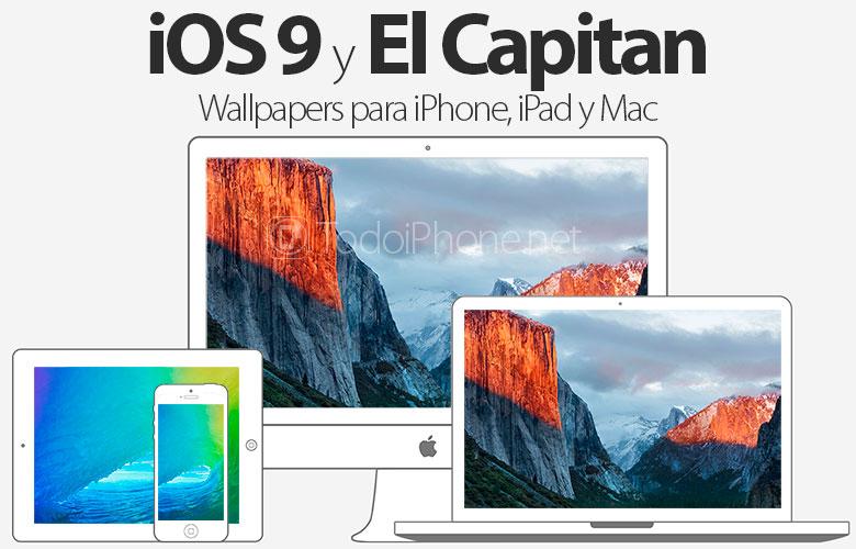 Descarga Los Wallpapers De IOS 9 Y El Capitan Para IPhone