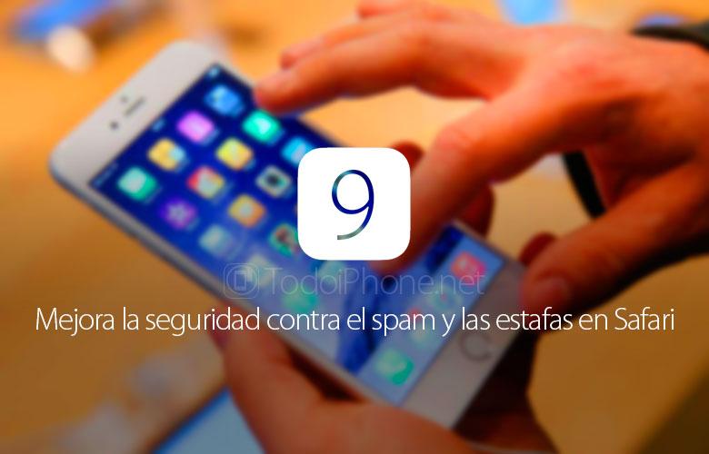 ios-9-mejora-seguridad-contra-spam-estafas-safari