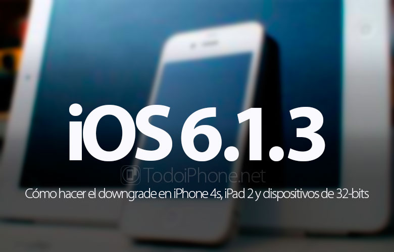 Downgrade a iOS 6 1 3 con Beehind