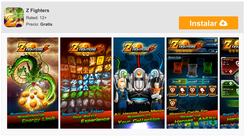 descargar-z-fighters
