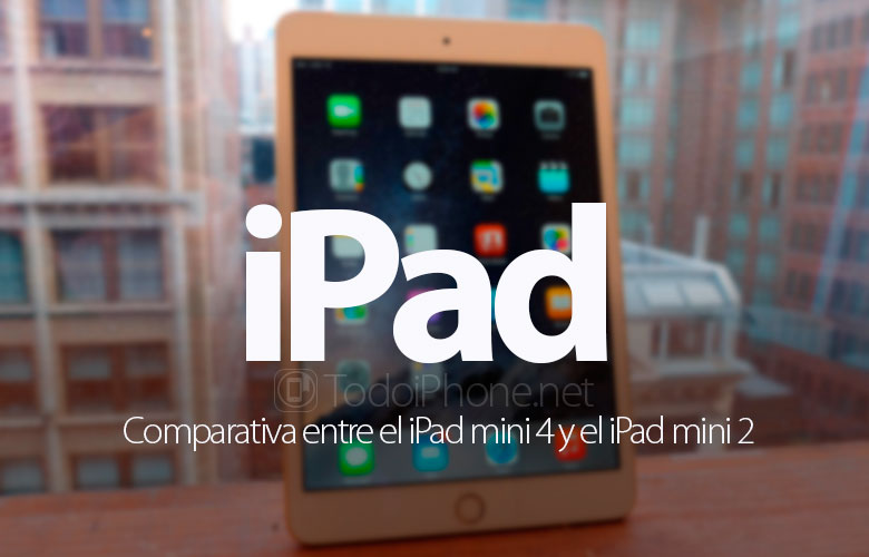 ipad-mini-2-vs-ipad-mini-4-comparativa