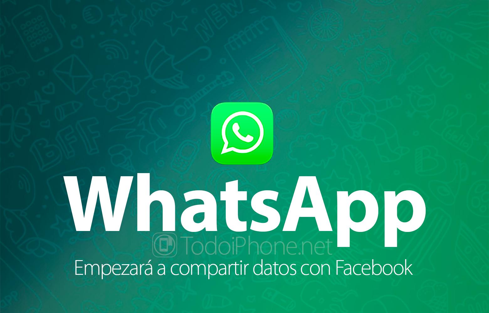 WhatsApp will start sharing user data with Facebook 1