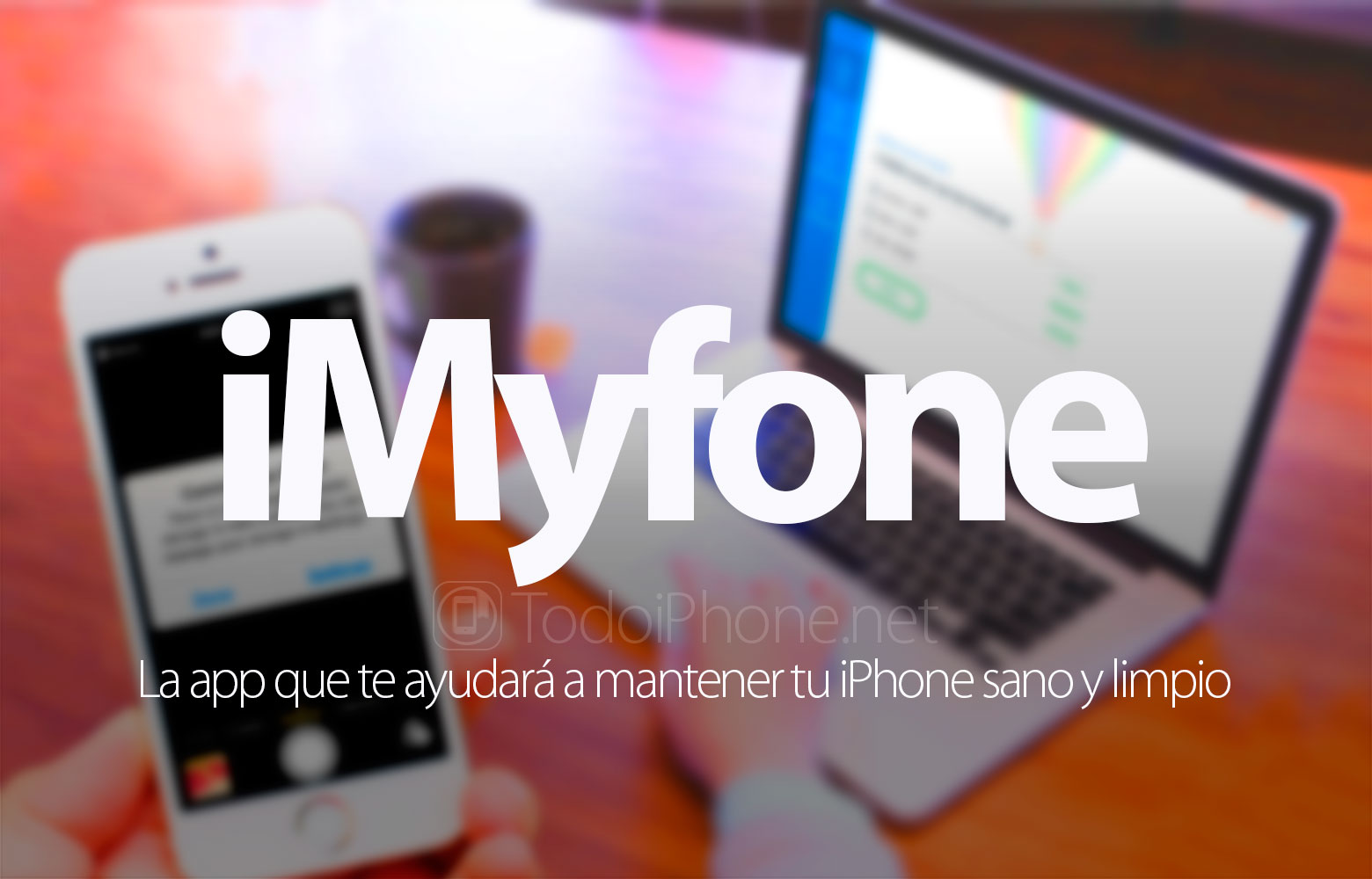 iMyfone, the app that will help you keep your iPhone healthy and clean 1