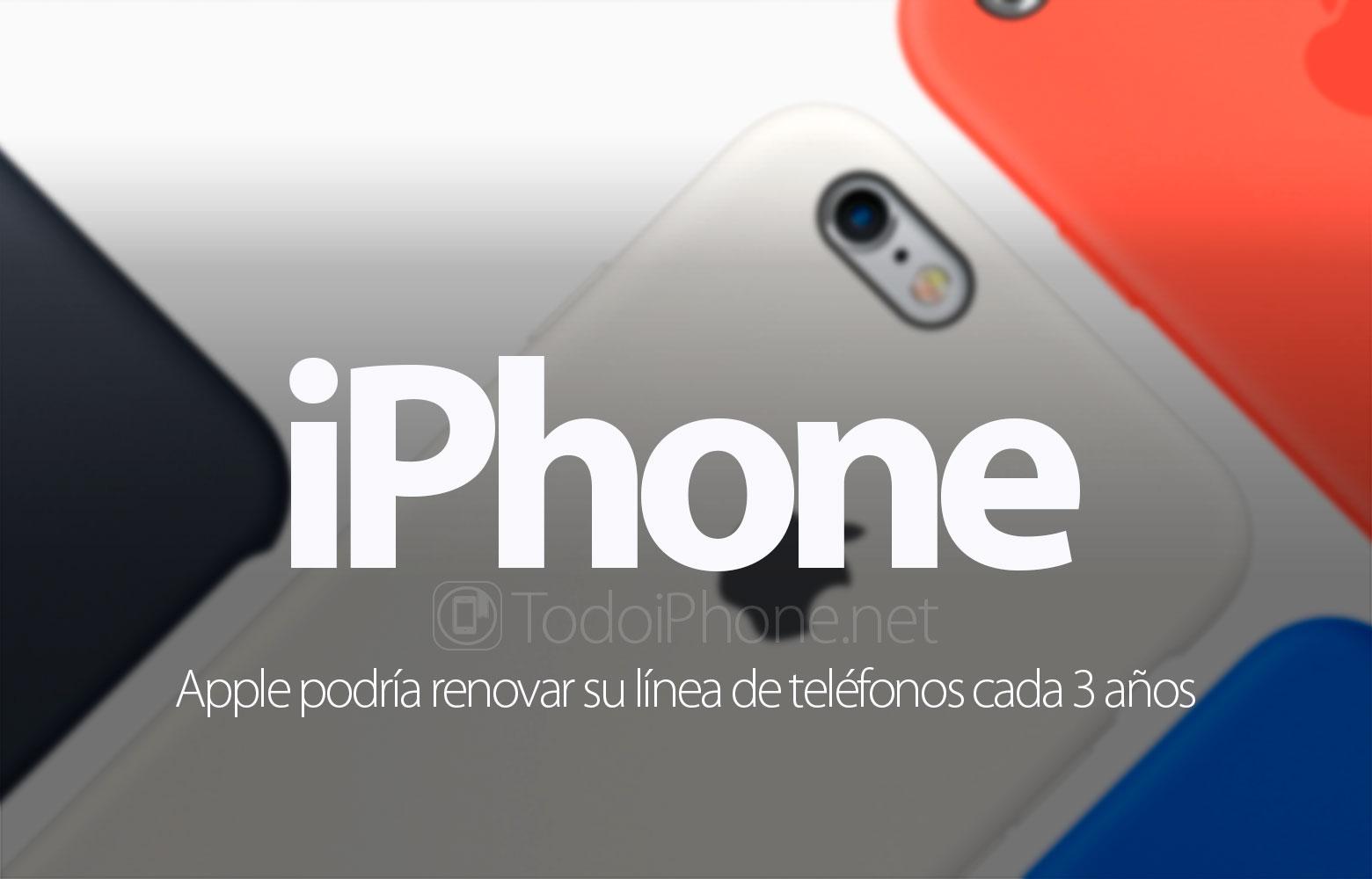 iphone-apple-renovar-linea-telefonos-3-anos