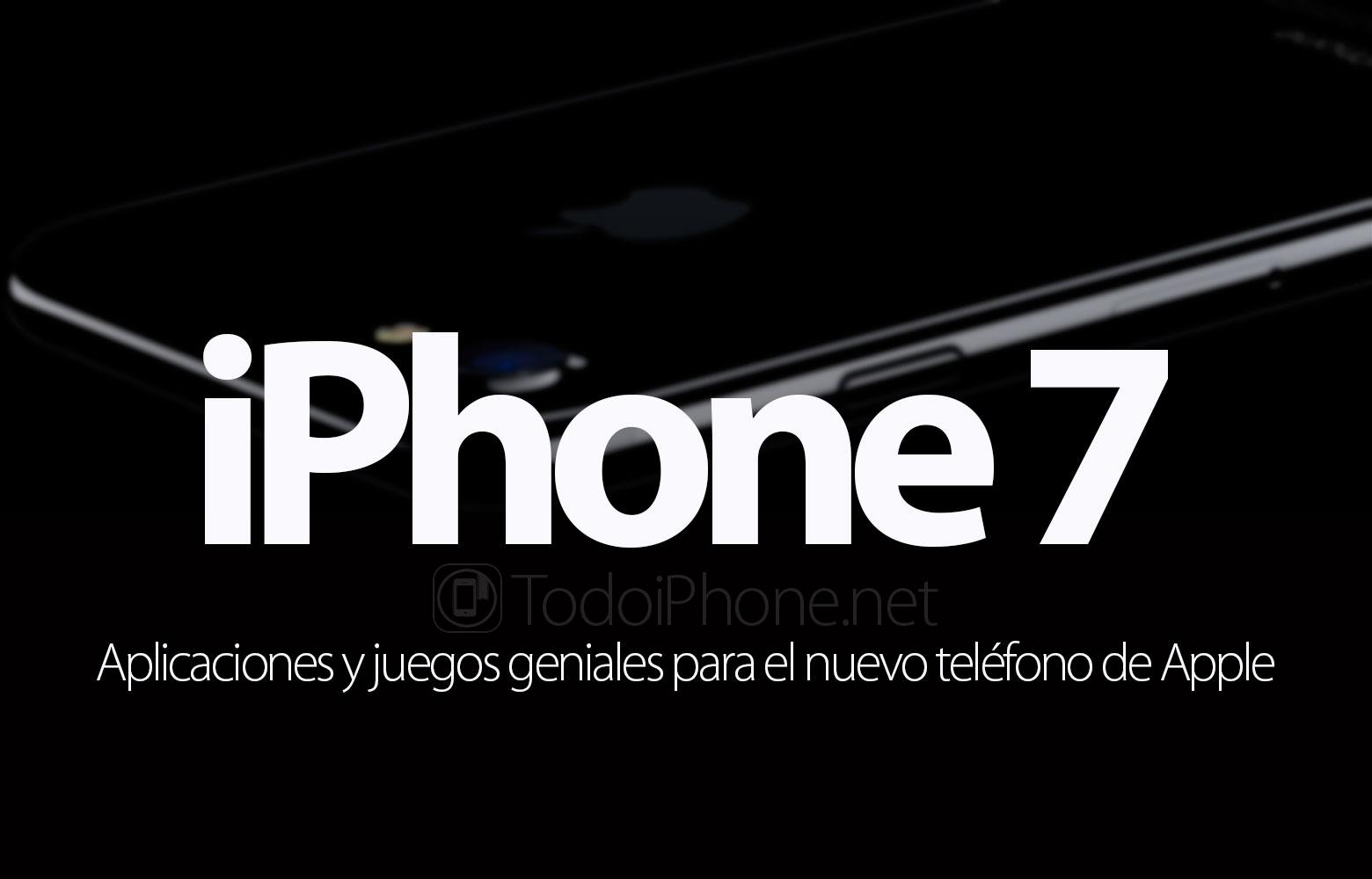 iPhone 7: Des applications incroyables pour le nouveau téléphone Apple 1