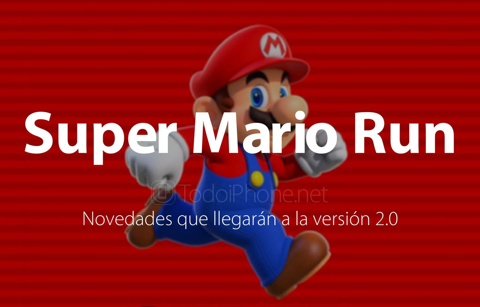 Super Mario Run aura des nouvelles importantes dans la version 2.0 1