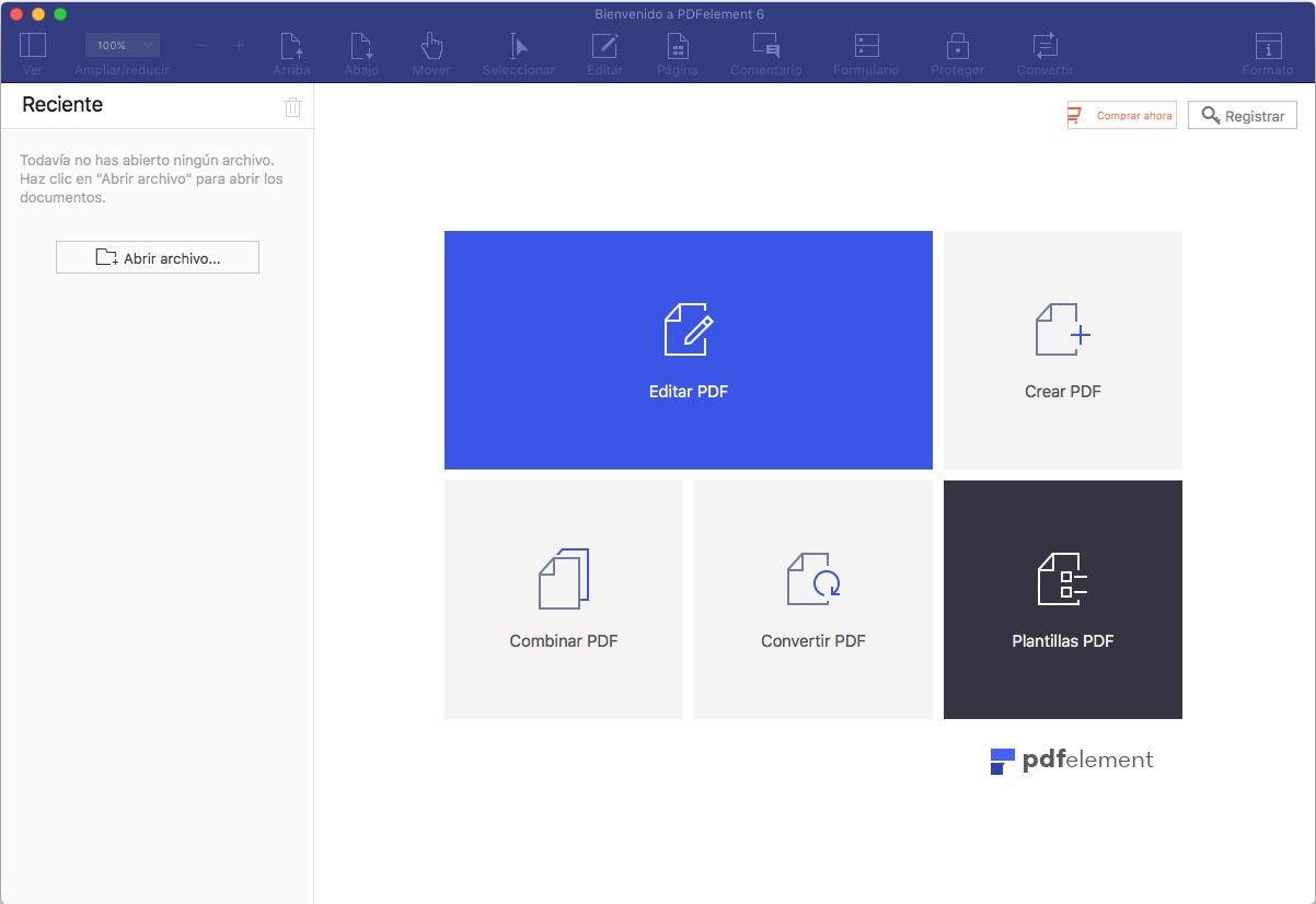 PDFelement 6 crea, convierte y edita archivos PDF con tu Mac
