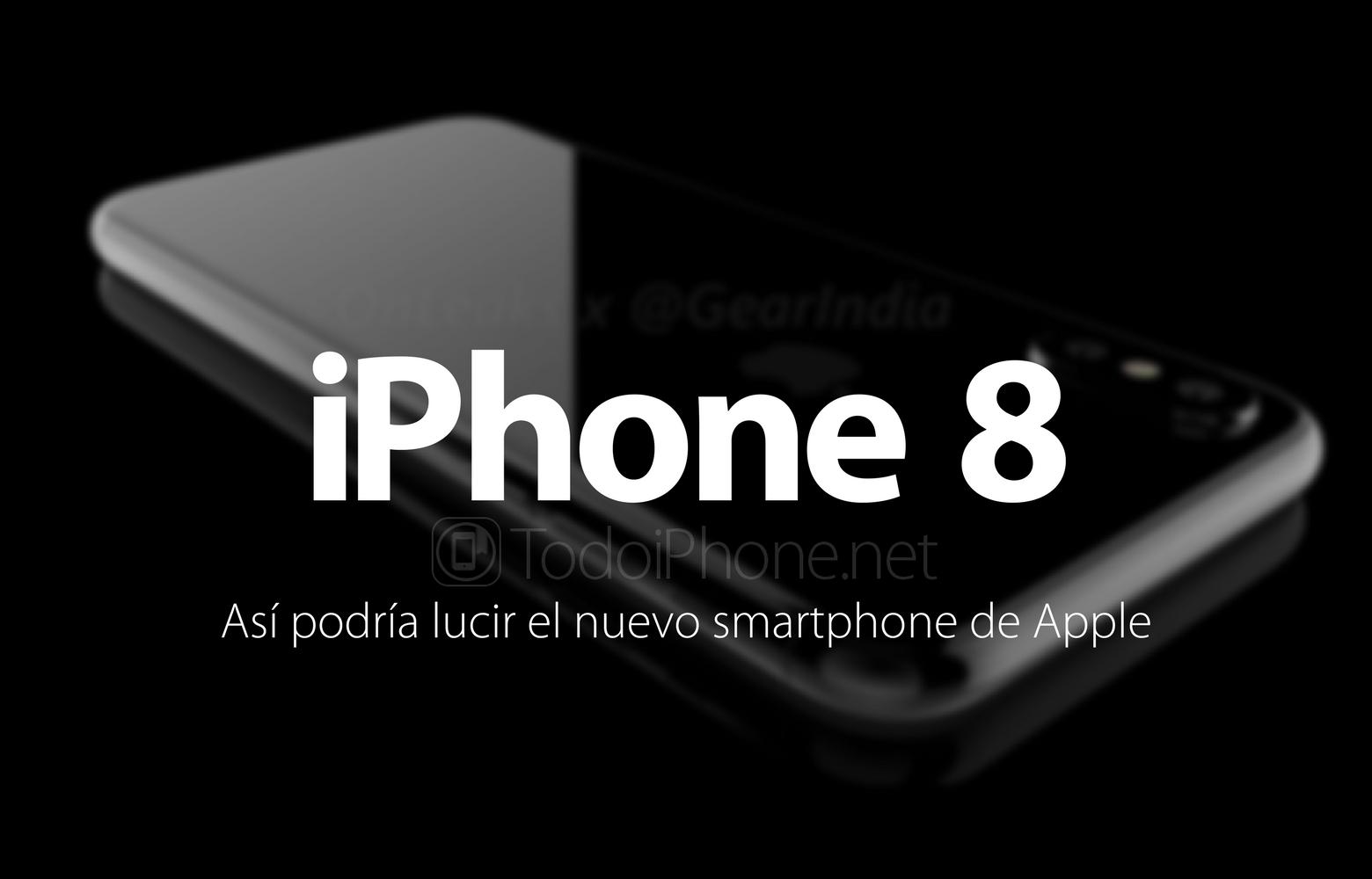 2736c2e966d Cogiendo de base todo lo que se hablado sobre el nuevo terminal iOS de Apple,  salen a la luz una serie de imágenes que nos permiten ver el posible  aspecto ...